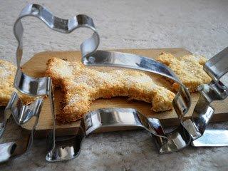 Citromos-kókuszos keksz