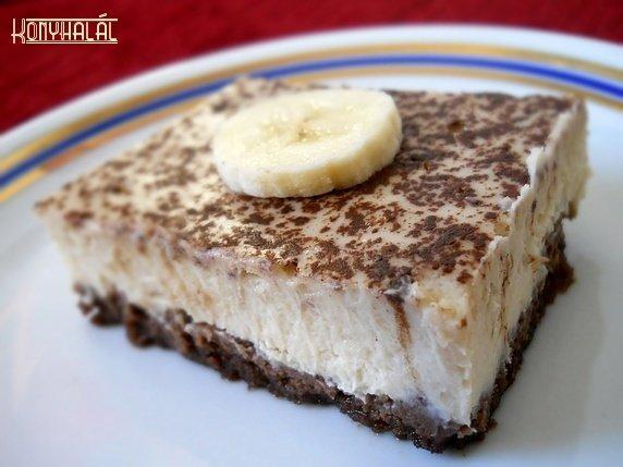 bananos sajttorta