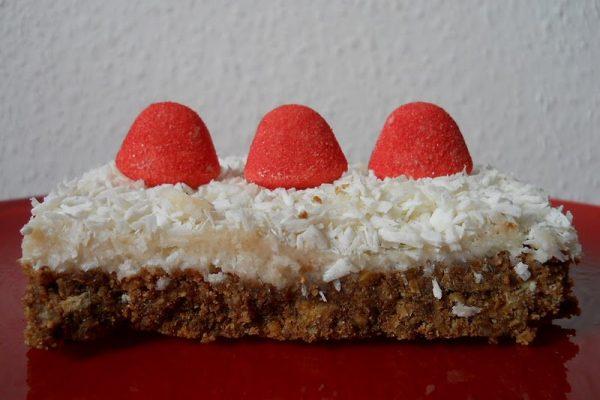 Kókuszos-mascarponés süti sütés nélkül