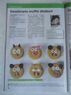 A muffin-állatkertem a Mindmegette Recepttárban! :)
