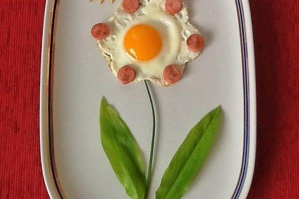 Virágos reggeli