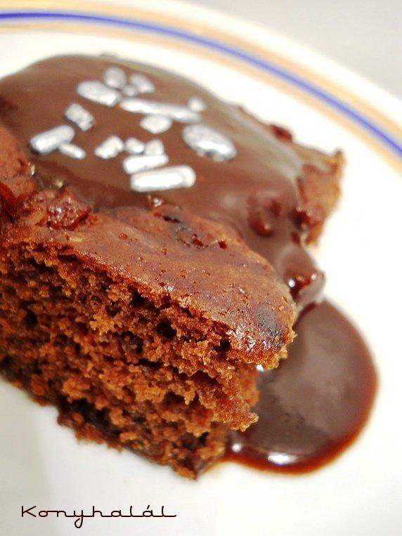 Csokis suti Csokitorta sajat leveben