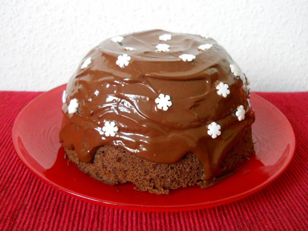 Csokis suti Sacher torta mikroban