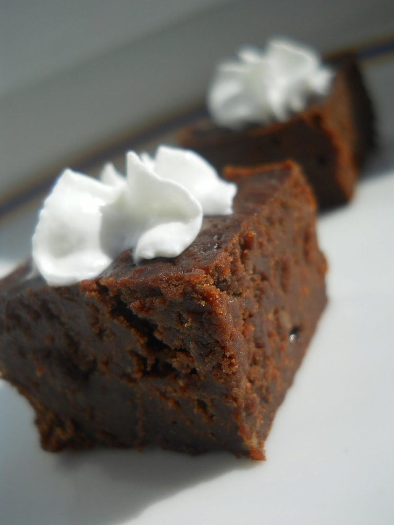 Csokis suti Gesztenyelisztes brownie