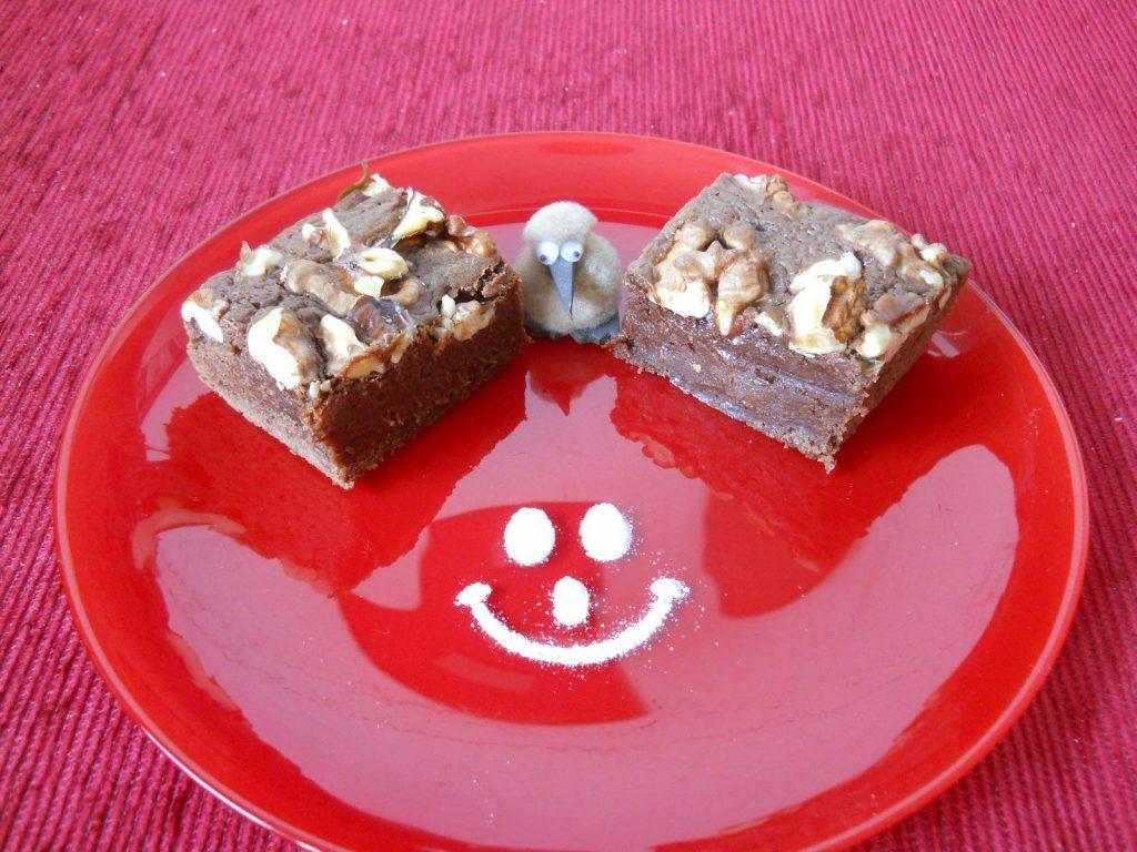 Csokis suti Konyakmeggyes brownie