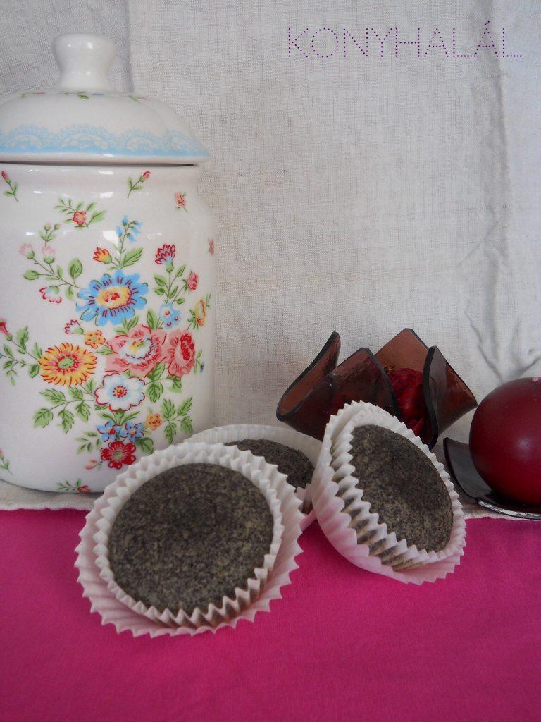 Glutenmentes makos muffin