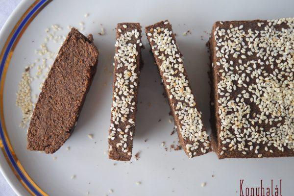 Mogyorós-lenmaglisztes kenyér