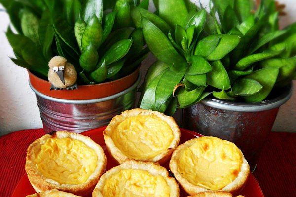 Pastéis de Belém/Pastel de nata – portugál nemzeti sütemény