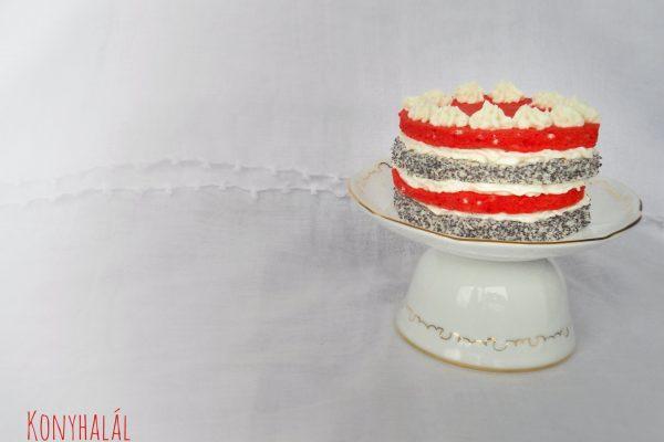 Színes csíkos tortácska