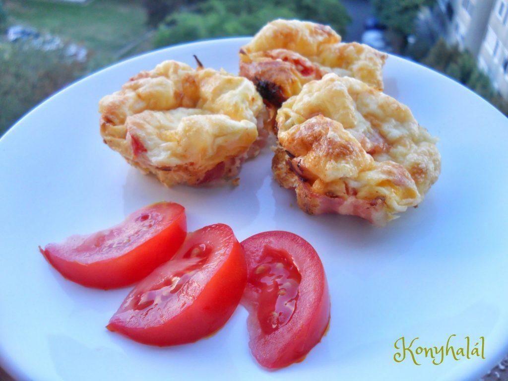 Omlett muffinsutoben