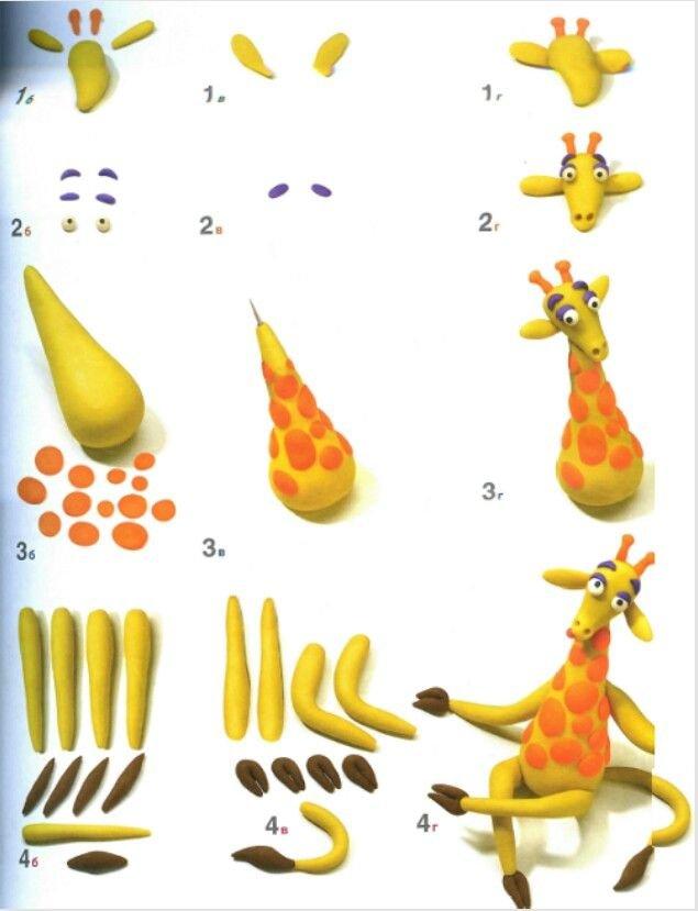 egyszeru allatfigurak formazasa zsiraf
