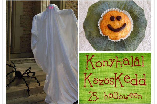 Konyhalál KözösKedd – 25. halloween