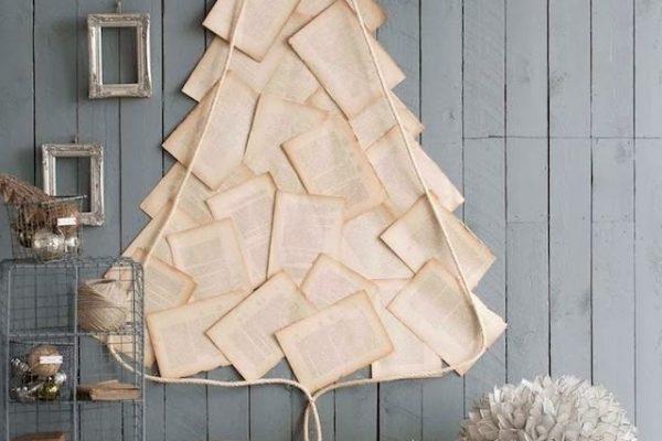 Karácsonyfa fa nélkül