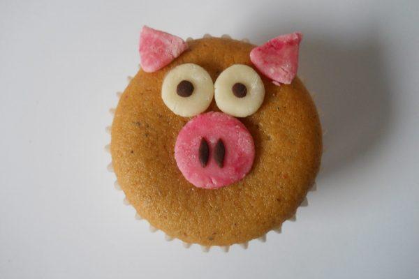 Újévi malac muffin
