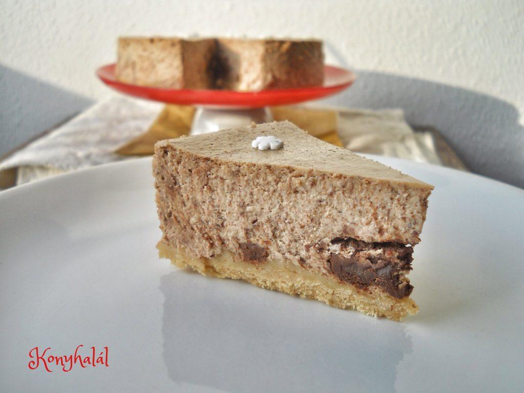 Csokis sajttorta chocolate cheescake