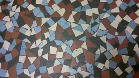 retro konyha mozaikpadlo