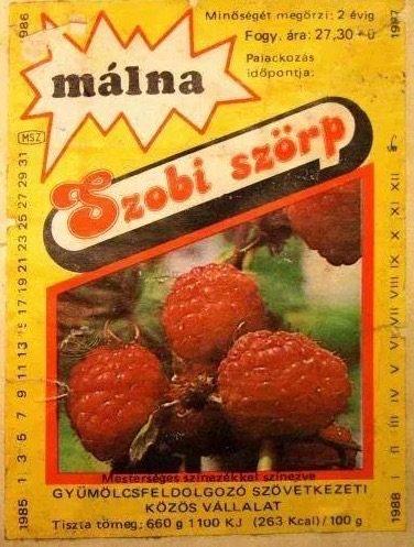 Szobi szorp ezeket ettuk a 80-as evekben retro etel
