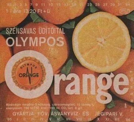 olympos orange ezeket ettuk a 80-as evekben retro etel