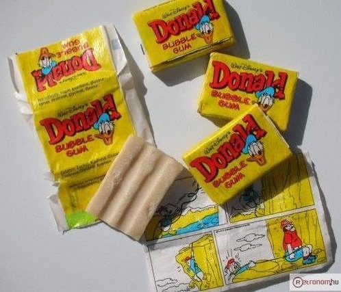 Donald rago ezeket ettuk a 80-as evekben retro etel