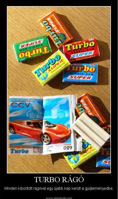 Turbo rago ezeket ettuk a 80-as evekben retro etel