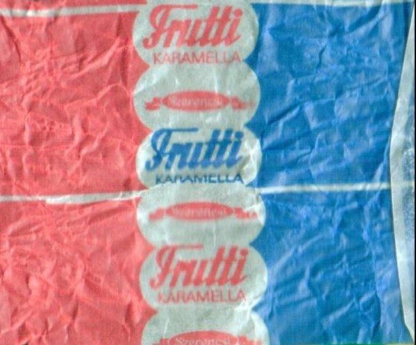 Frutti ezeket ettuk a 80-as evekben retro etel