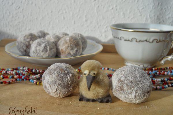Fahéjgolyó – az expressz édesség