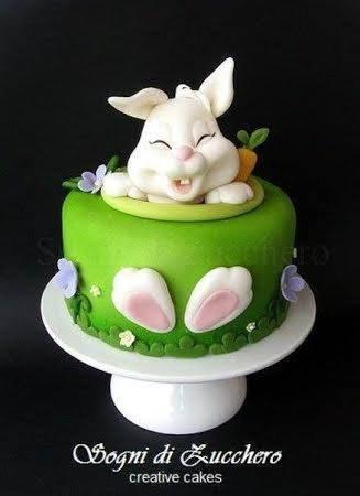easter bunny cake husveti torta