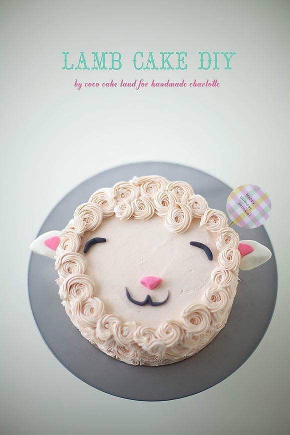 easter lamb cake husveti torta