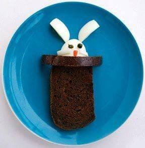easter creative bunny sandwich husveti talalas
