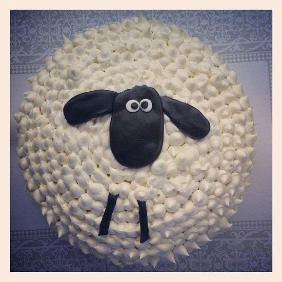 easy easter sheep cake husveti torta
