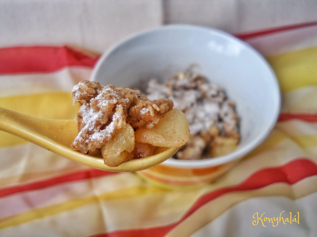 Apple crumble recipe mikros almas crumble