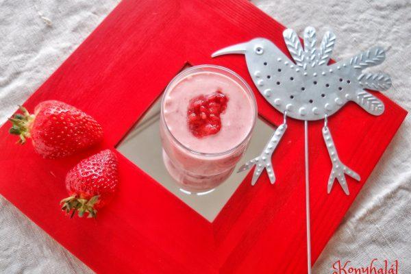 Tejfölös eper – a világ legegyszerűbb édessége