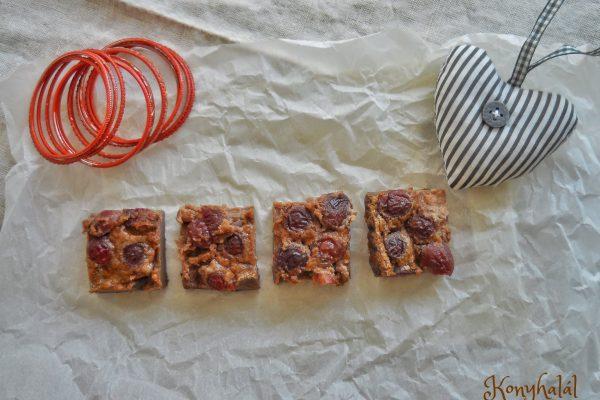 Csokis-cseresznyés clafoutis