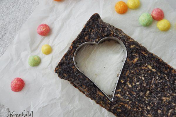 Lisztmentes mákos-almás sütemény (paleo)