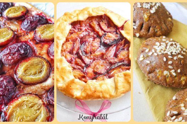 5 egyszerű szilvás sütemény