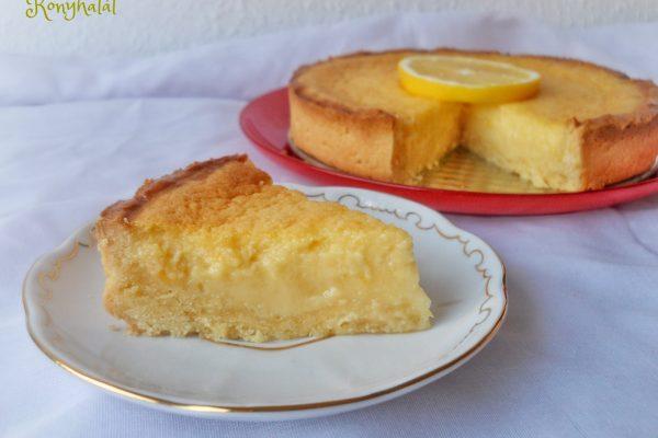 Jamie citromos pitéje