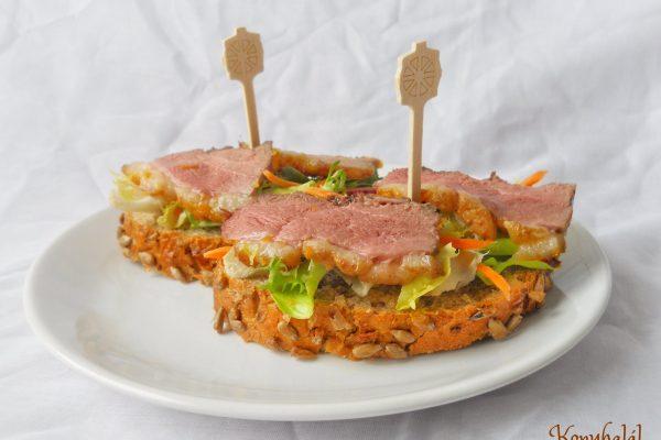 Kacsamelles szendvics