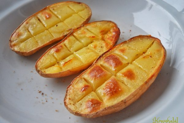 Gyors mikrós krumpli