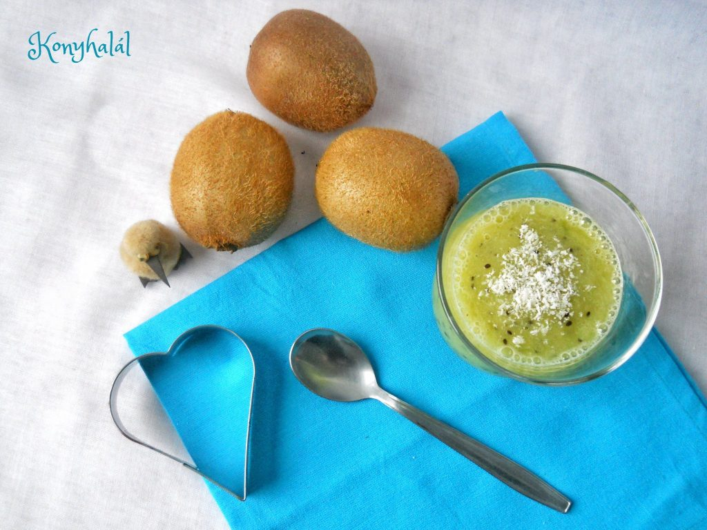 kiwi-banan smoothie