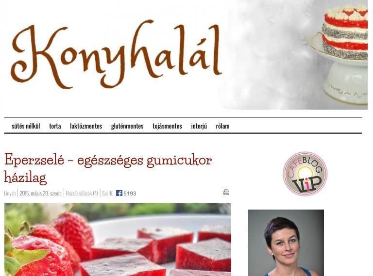 Médiaajánlat a Konyhalál blogra