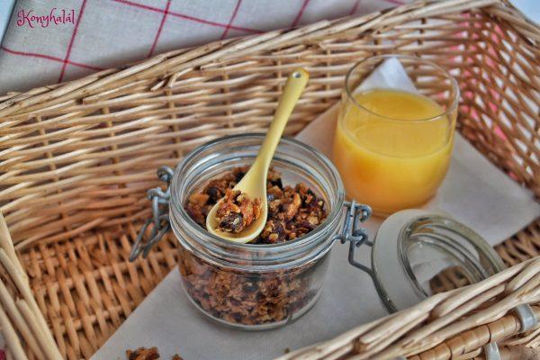 Házi granola – az egészségesebb reggelihez