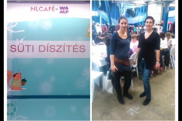 Ilyen volt a sütidíszítő workshopunk az NLCafé Téli fesztiválján