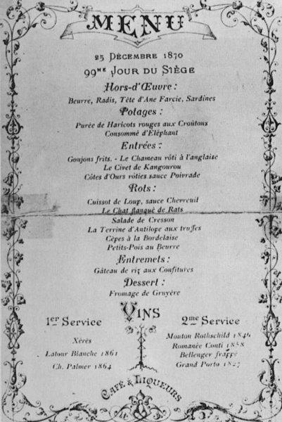 Karacsonyi menu