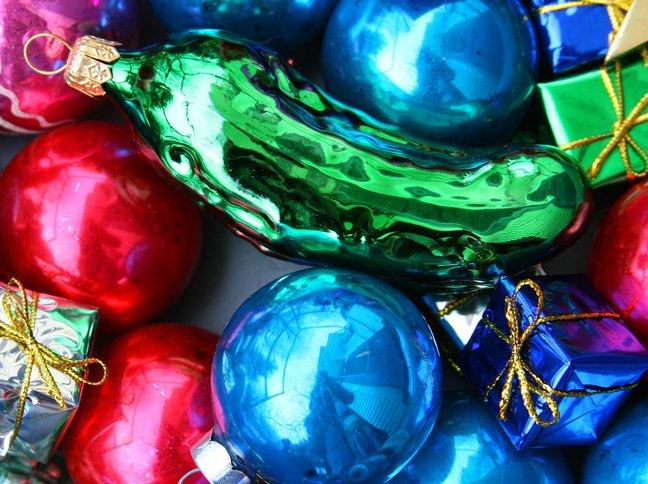 uborka karácsonyfadísz