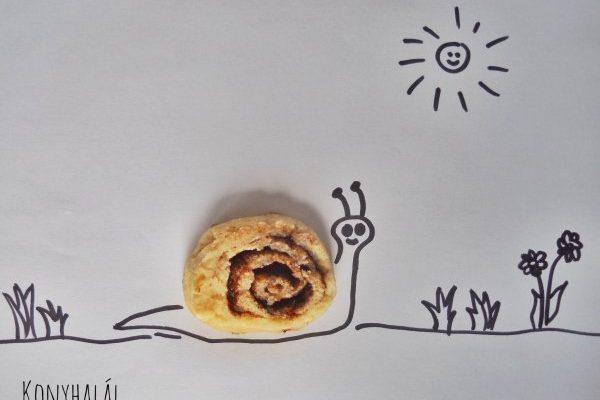 Villámgyors kakaós csiga – túrós tésztájú