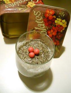 Mákos pohárkrém