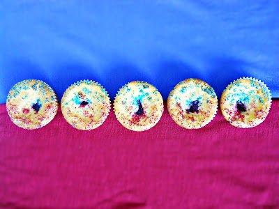Kétszínű citromos-pudingos tésztájú muffin – VKF! 58. forduló