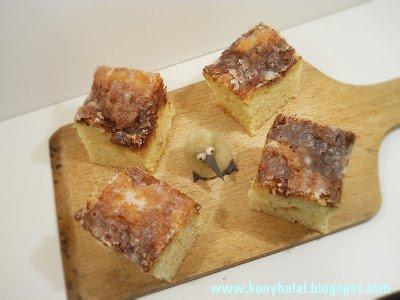 Fahéjas csiga süti – cinnamon roll cake