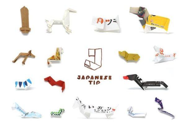 Japánban borravaló helyett origamiznak
