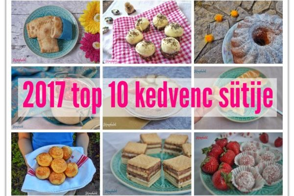 2017 top 10 kedvenc sütije